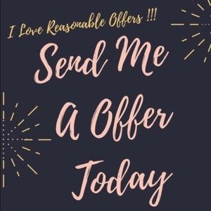 Other - I ACCEPT ALMOST ALL REASONABLE FAIR OFFERS!